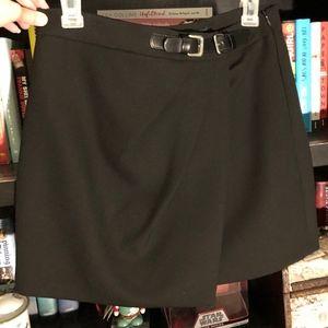 New Zara Black Mini Skirt
